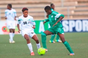 Super Falcons in possession