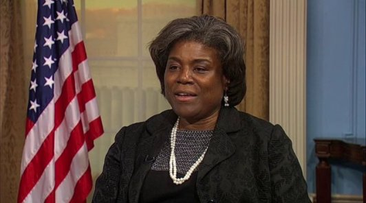 U.S. Assistant Secretary, Bureau of African Affairs, Linda Thomas-Greenfield