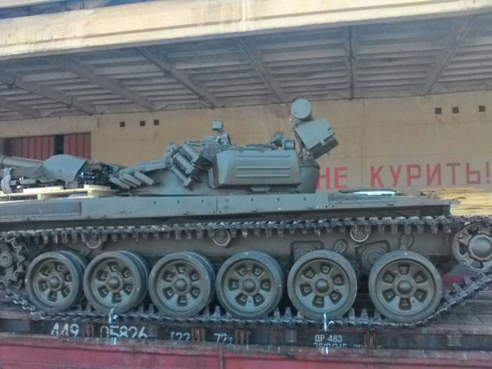 One of the BTR 4 being exported from Ukraine to    Nigeria