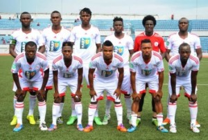 Enugu Rangers' players
